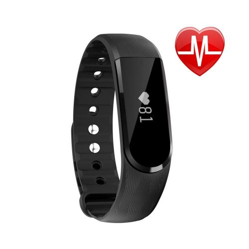 Fitness Tracker HR, Letscom Activity Tracker with