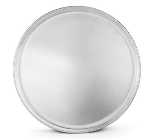 New Star Foodservice 50837 Pizza Pan / Tray, Coupe Style, Aluminum, 16 inch