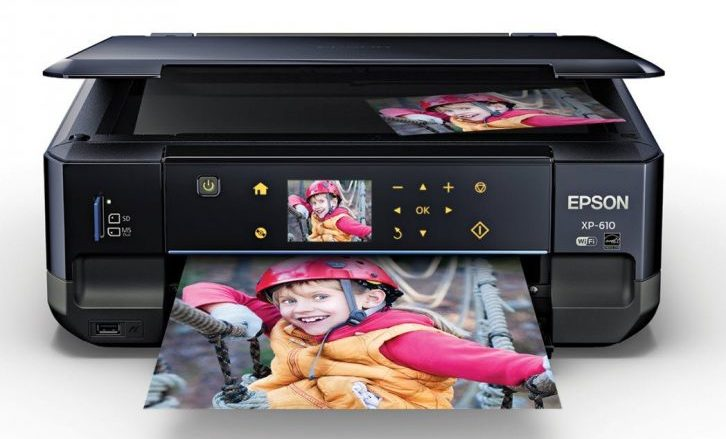 Epson C11CD31201 Expression Premium XP-610 Wireless Color Photo Printer