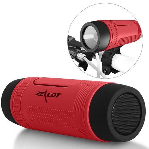 Outdoor Speakers Portable Bluetooth Bicycle Speaker Zealot S1 4000mAh Power Bank Waterproof Speakers with Full Outdoor Accessories