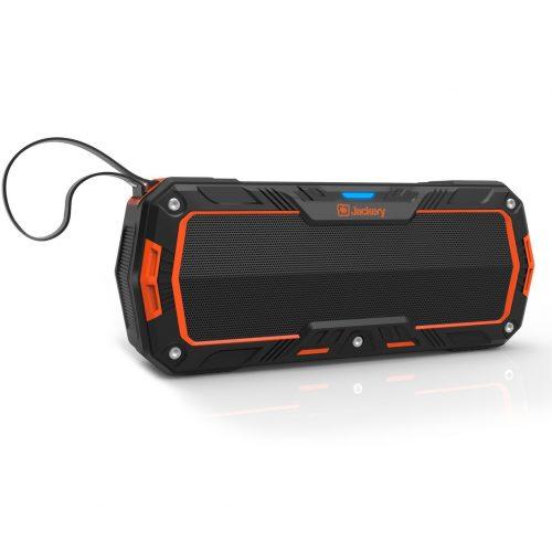 Jackery Boom - Wireless Bluetooth 4.1 Speaker 10W Subwoofers IP65 Water Resistant Dustproof Rugged Portable Bluetooth Speaker for Biking, Hiking, Camping, Beach, Poolside Party Outdoor Activities