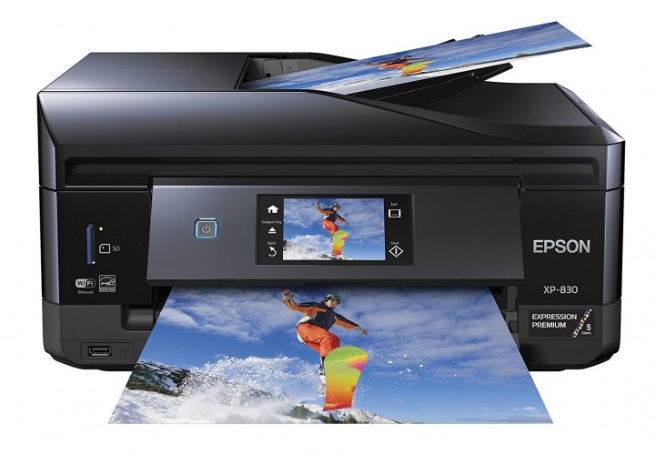 Epson XP-830 Wireless Color Photo Printer