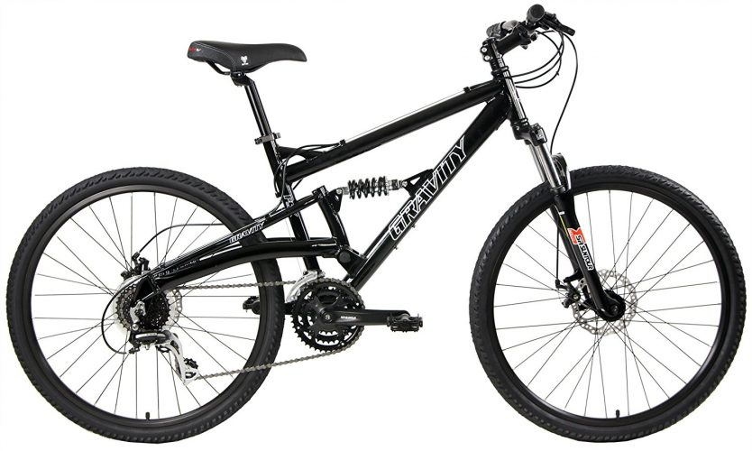 Gravity FSX 1.0 Dual Full Suspension Mountain Bike