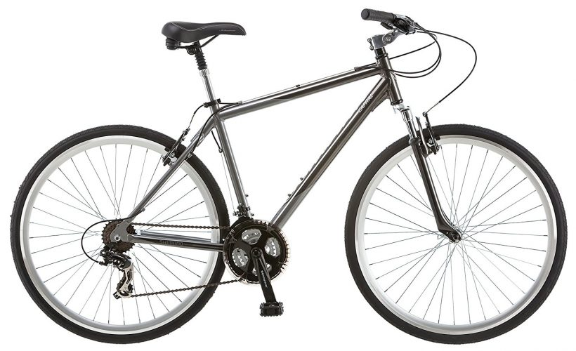 Schwinn Capital 700c Men's Hybrid Bicycle, Medium frame size, grey