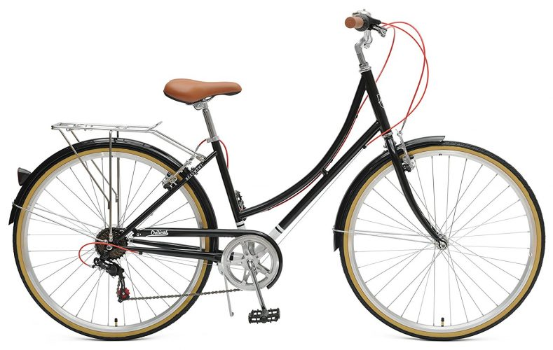 Critical Cycles Beaumont-7 Seven Speed Lady's Urban City Commuter Bike-Hybrid Bikes