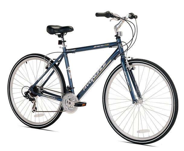 Kent Men's Avondale Hybrid Bicycle with Sure Stop Brakes, 19""