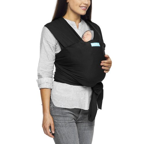 Moby Wrap Baby Carrier for Newborns + Toddlers Soft Baby Sling Baby Wrap, Ideal for Baby Wearing, Breastfeeding, and Keeping Baby Close-Baby Wraps