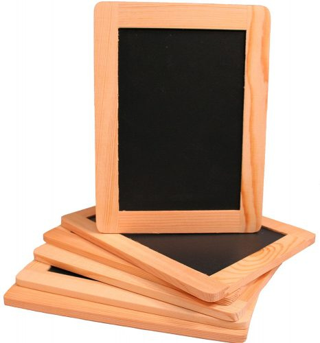 Creative Hobbies® Synthetic Chalkboard With Unfinished Wood Frame