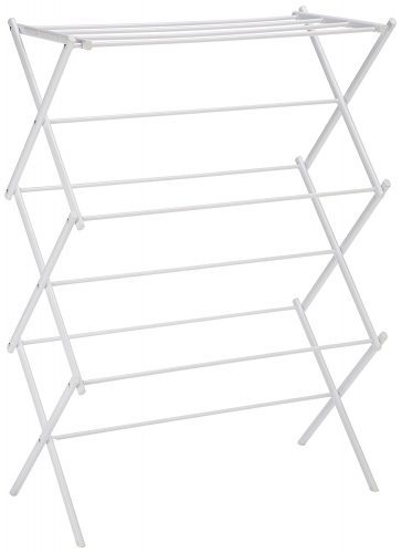 AmazonBasics Foldable Drying Rack – White