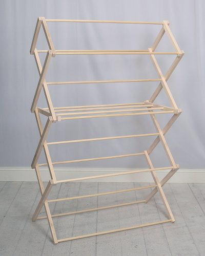 Pennsylvania Woodworks Extra Large Wooden Clothes Drying Rack folding clothes drying racks