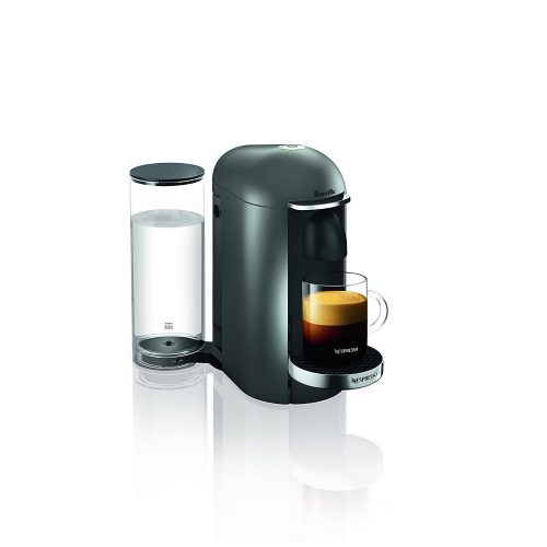 Nespresso VertuoPlus Deluxe Coffee and Espresso Maker by Breville