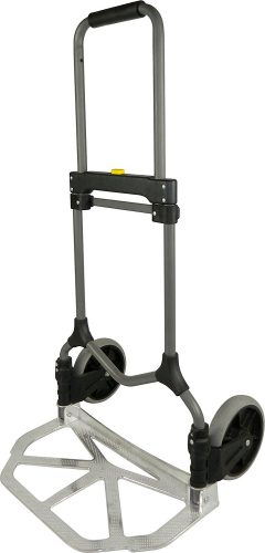 Welcome MC2S Magna Cart Elite 200 lb Capacity Folding Hand Truck, Silver, Frustration-Free Packaging