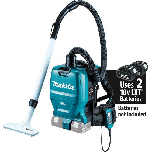 Makita XCV05Z 18V X2 LXT Lithium-Ion Brushless Cordless ½ gallon HEPA Filter Backpack Vacuum