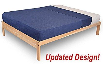 Nomad 2 Platform Bed - Queen - wood bed platform