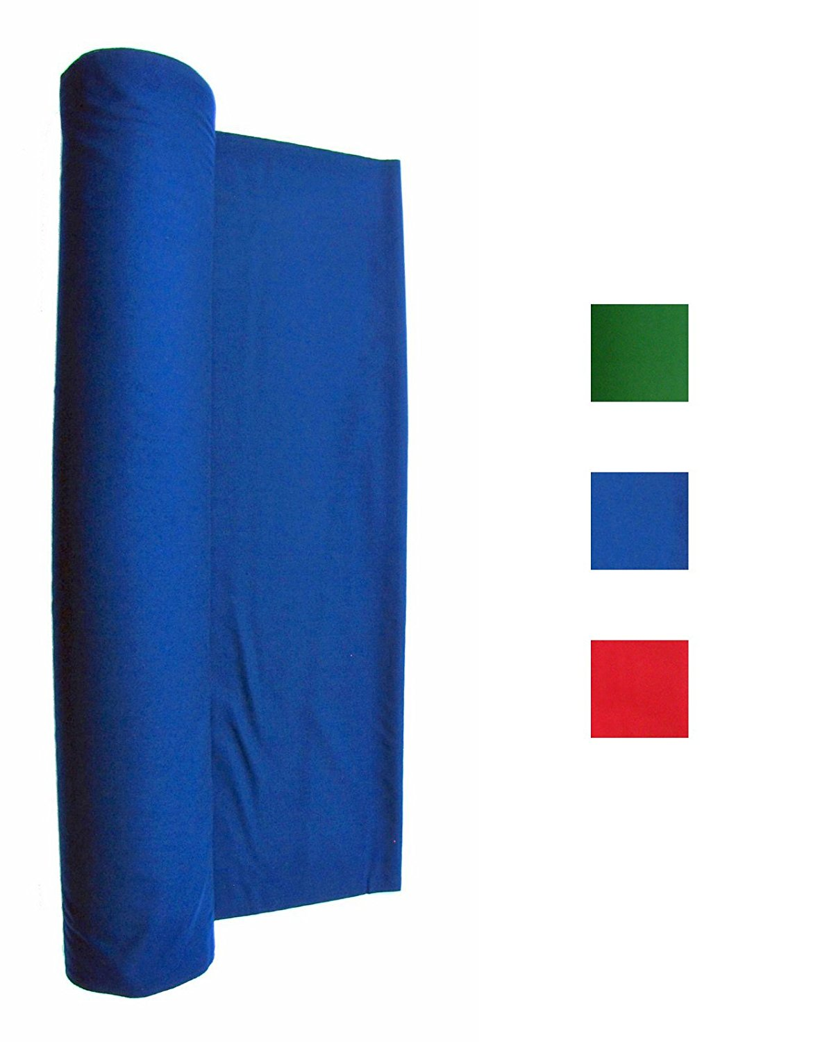 Cotton Backed Performance Grade Pool Table Felt - Billiard Cloth - For 7, 8 or 9 Foot Table English Green, Blue or Red