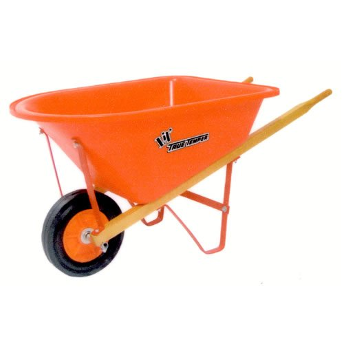The AMES Companies, Inc True Temper Kids Lil' Wheelbarrow With Poly Tray - KPWB10
