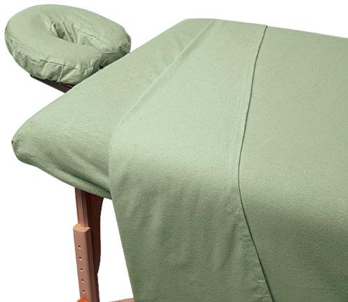 For Pro Premium Flannel Sheet 3 Piece Set, Natural