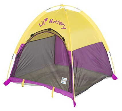 """Pacific Play Tents Lil Nursery Portable Dome Tent for Infants - 36"""" x 36"""" x 36"""""""