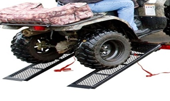 "Rage Powersports ST-4811-1600-M-V2 Steel ATV Trailer Ramp (48.5"" Black, Pair) - ATV RAMPS"