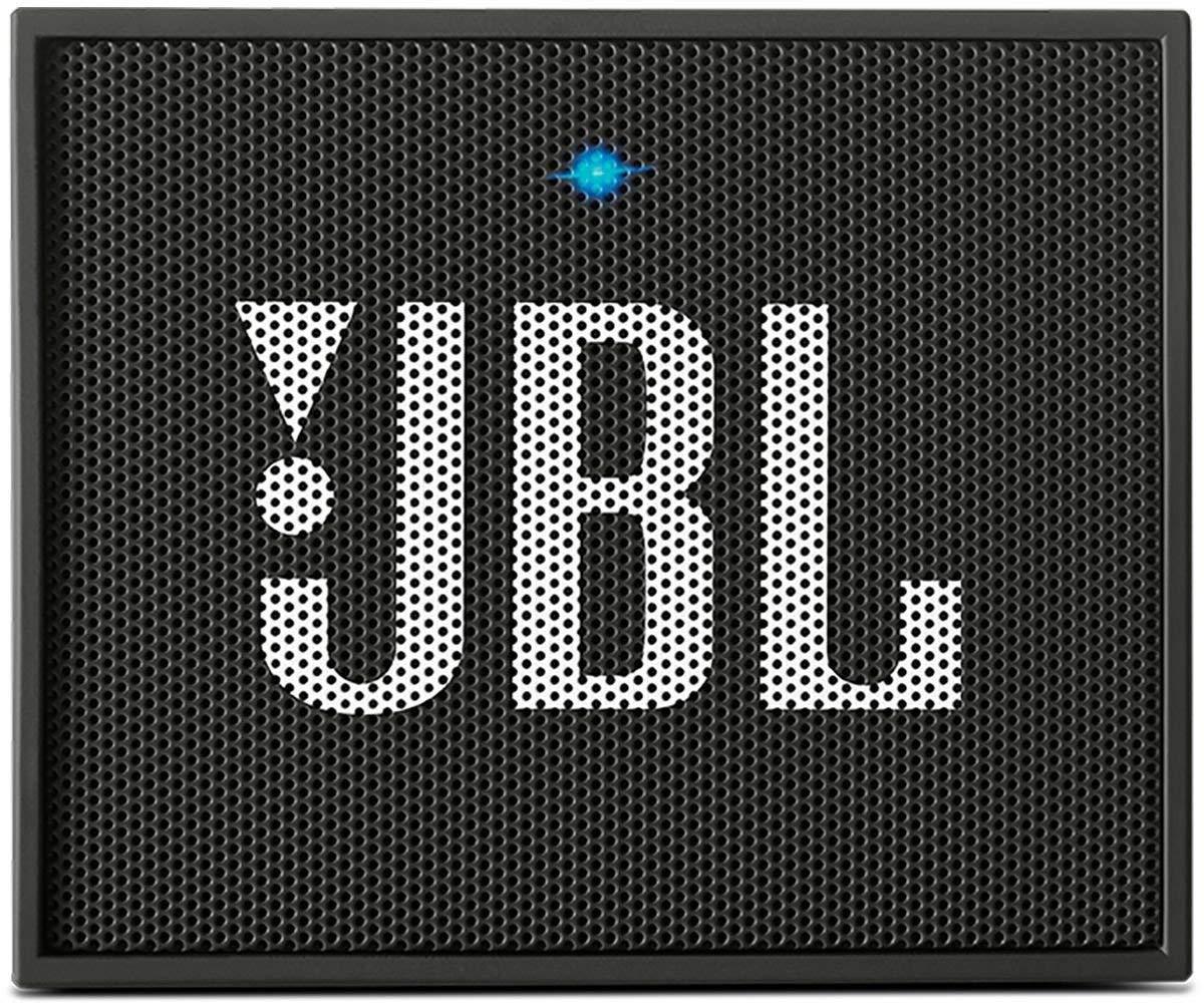 JBL GO Portable Wireless Bluetooth Speaker W/A Built-In Strap-Hook (black) - Bluetooth Speakers Under 50
