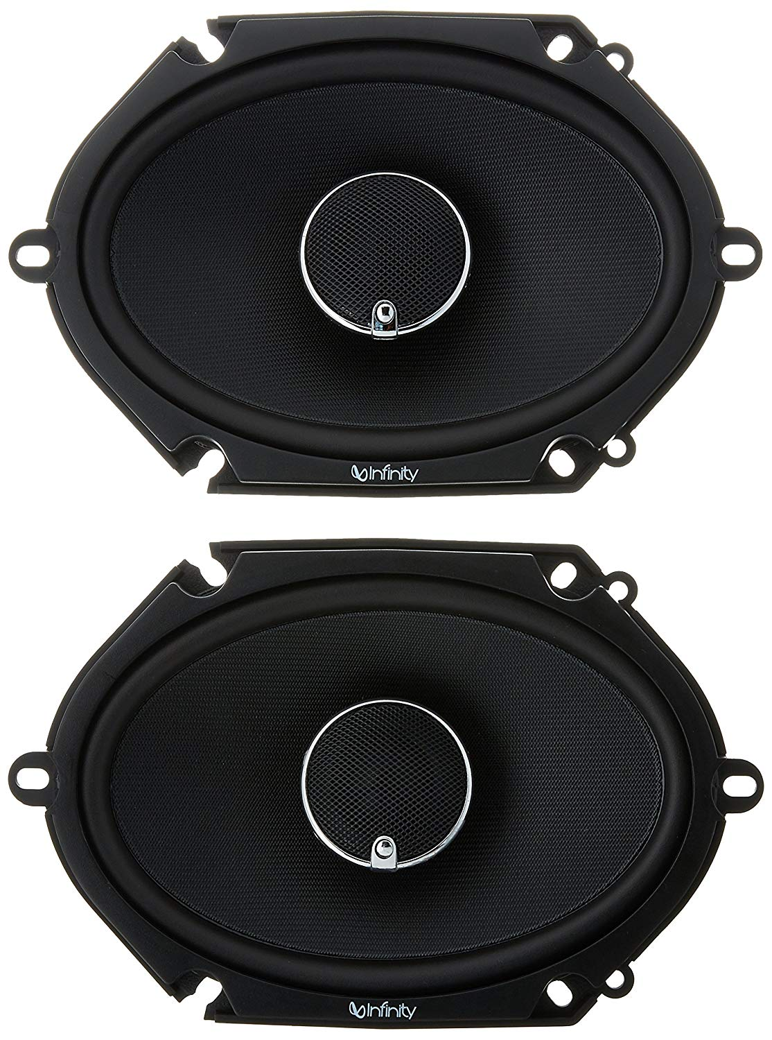 "Infinity KAPPA 682.11cf Peak Power Handling 300w 6""x8""/5""x7"" Two Way Car Audio"