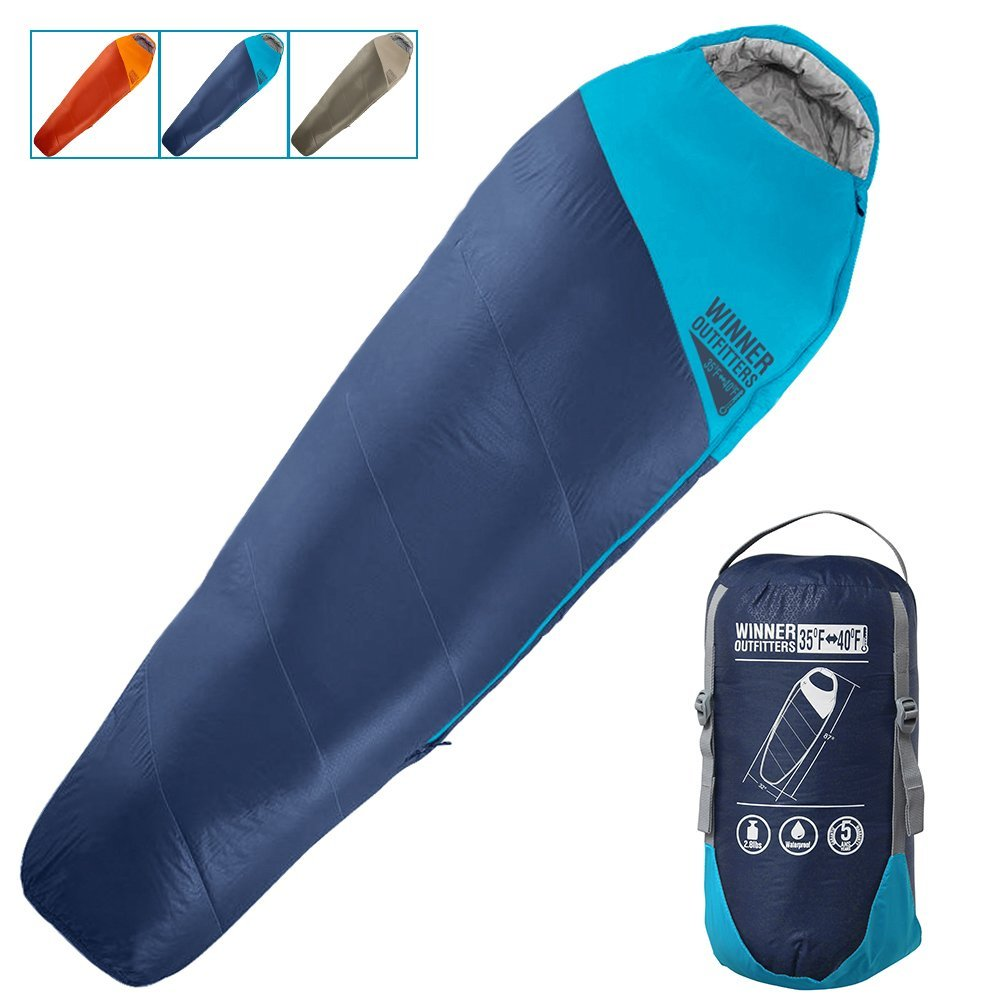 Mummy Sleeping Bag- WINNER OUTFITTERS