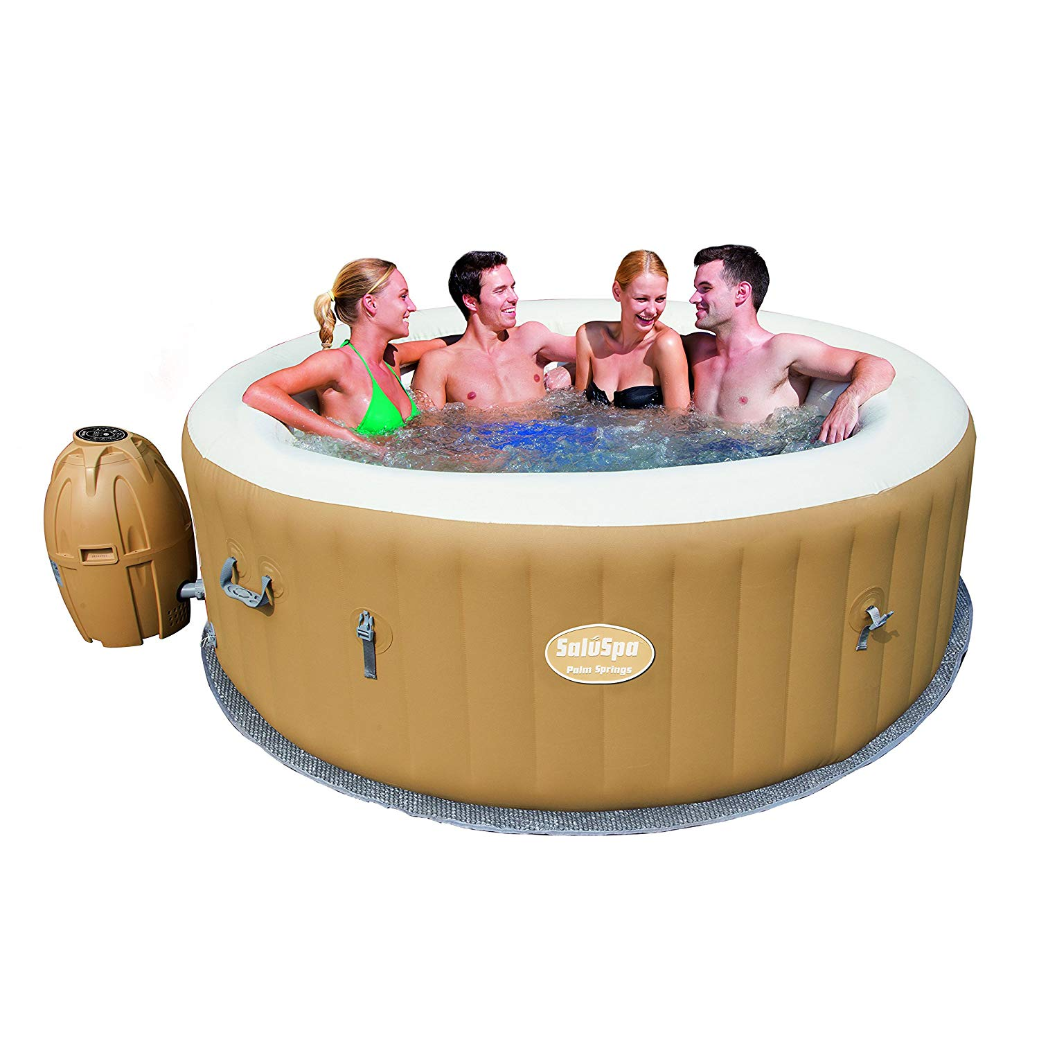 Bestawy Saluspa palm springs airjet inflatable 6-person hot tub