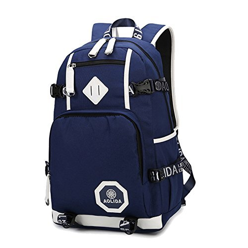 Linbag Popular Heavy Duty Teens High School Backpack Bookbag for Boys
