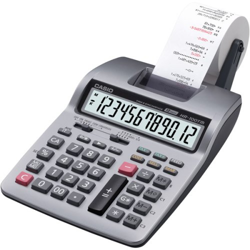 Casio HR-100TM Printing Calculator - Best Printing Calculators