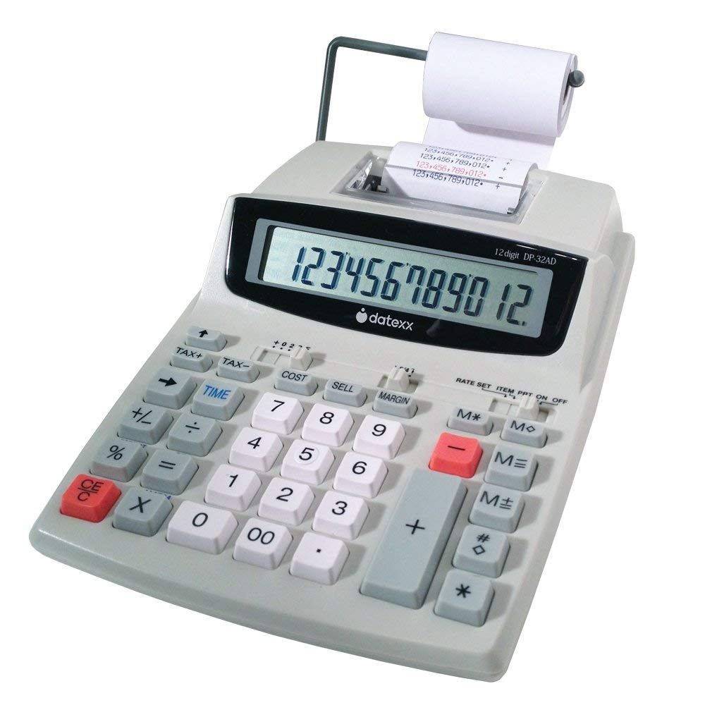 Datexx DP-32AD Printing Calculator