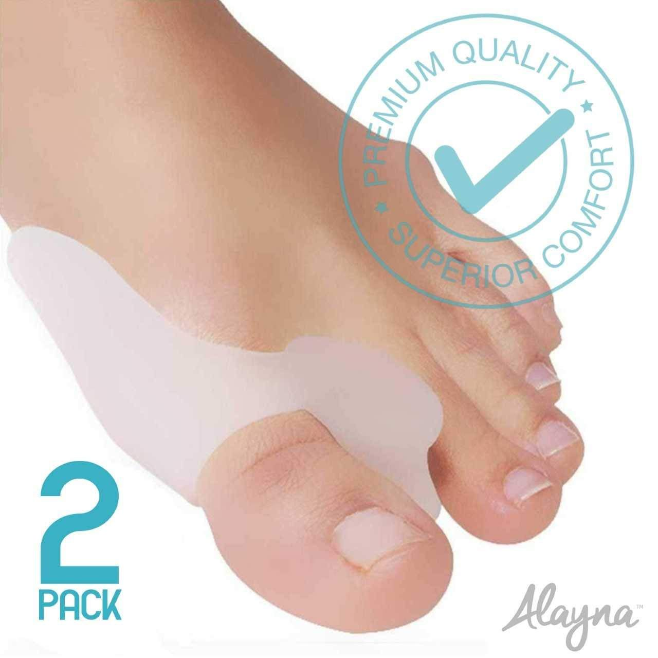Bunion Corrector and the Bunion Relief Gel Toe separator