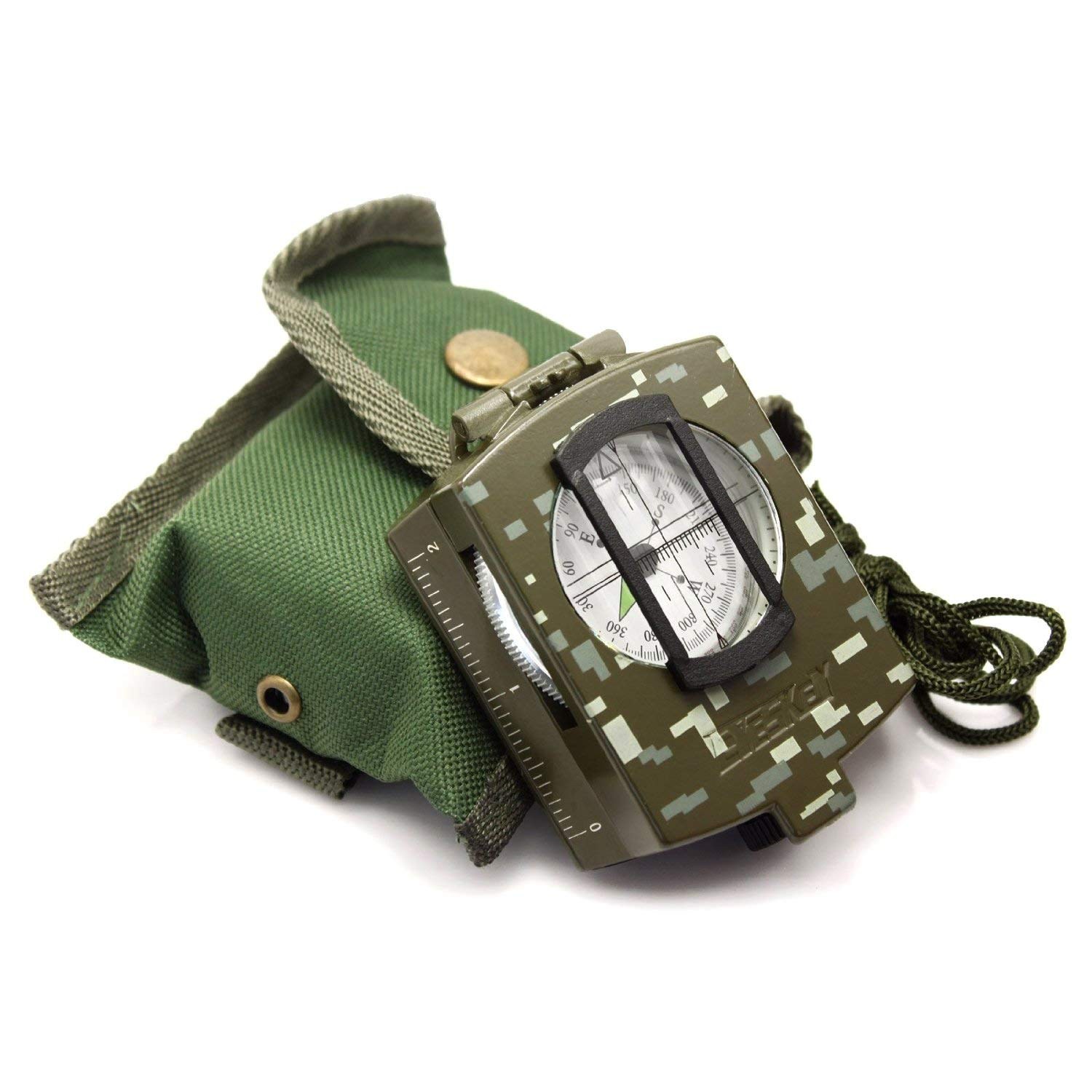 Eyeskey Multifunctional Military Army Aluminum Alloy Compass