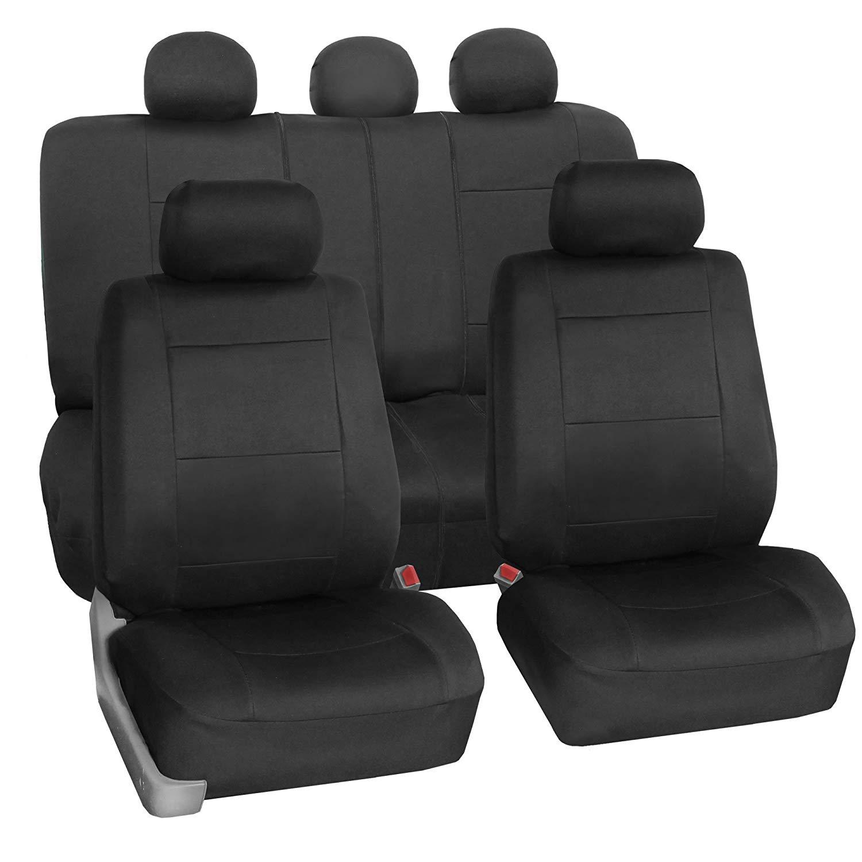 FH Group FH-FB083115 Neoprene Waterproof Car Seat Covers-Neoprene Car Seat Covers