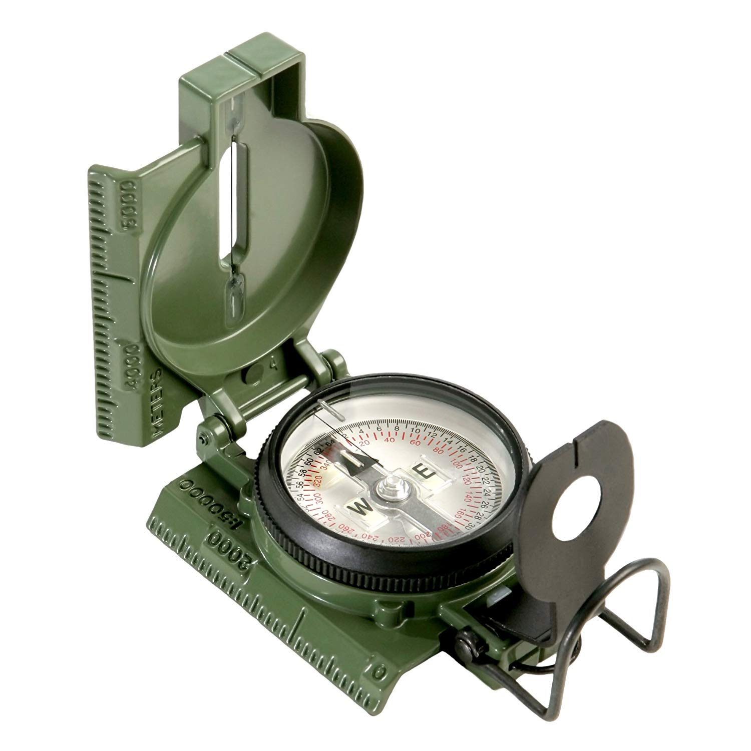 Cammenga Official US Military Tritium Lensatic Clam Pack Compass
