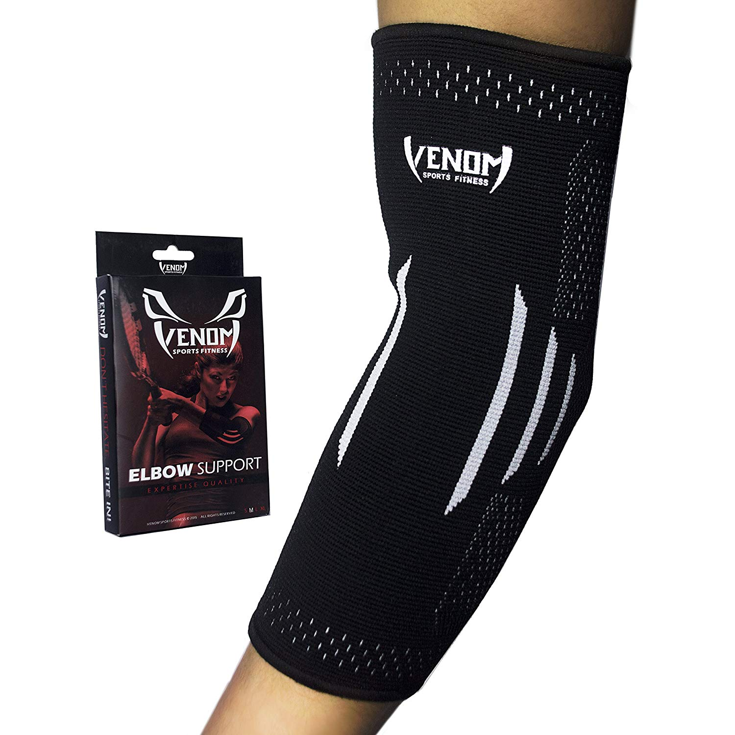 Elbow Brace Compression Sleeve- Venom