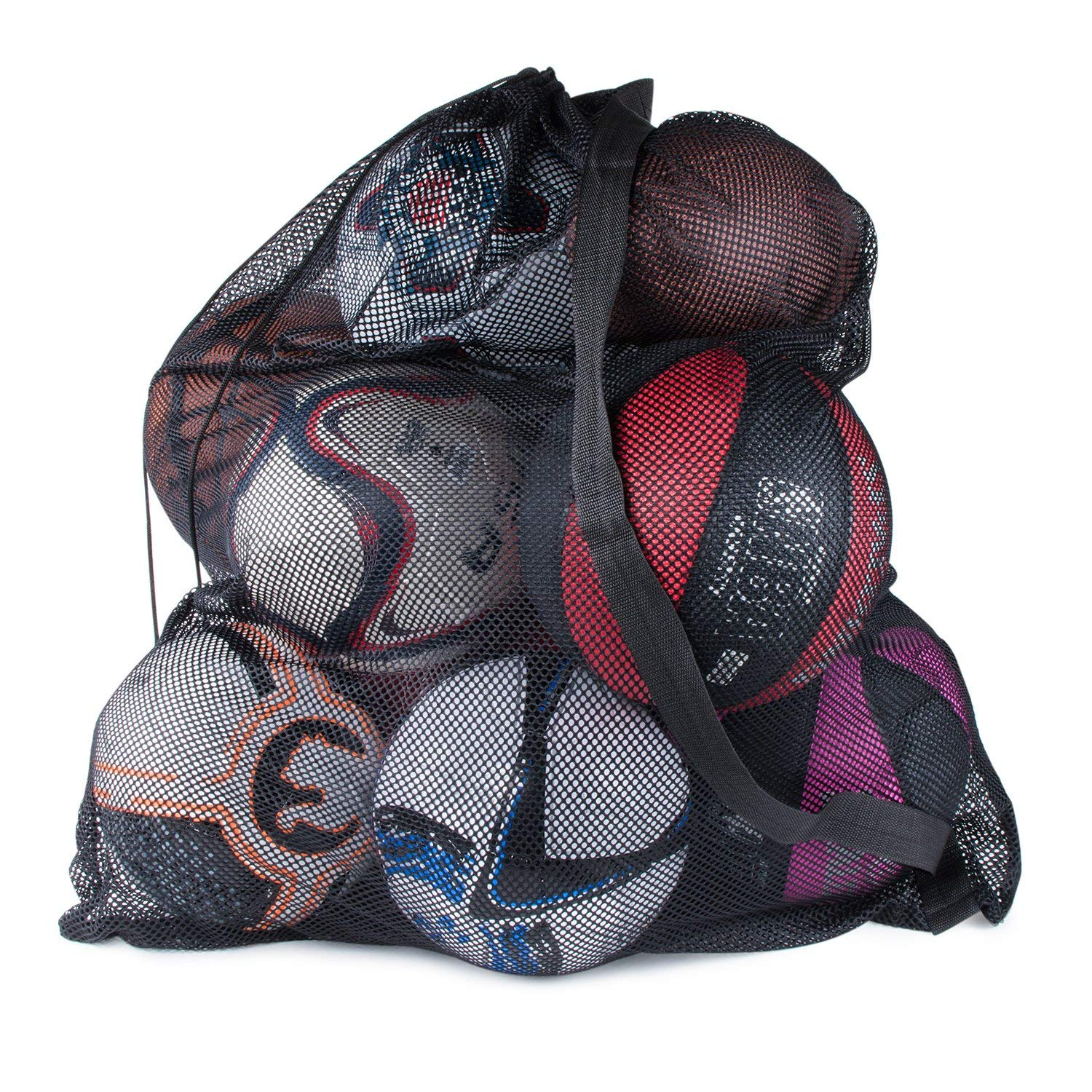 Sports Ball Bag Drawstring Mesh - Bowling Ball Bag