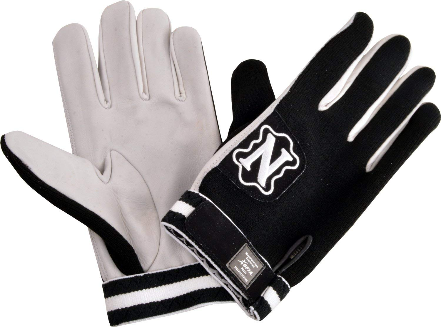 Neumann Rage Wide Receivers Gloves by Adams - Choose Color, Size - Youth or Adult - Battle Football Receiver Gloves