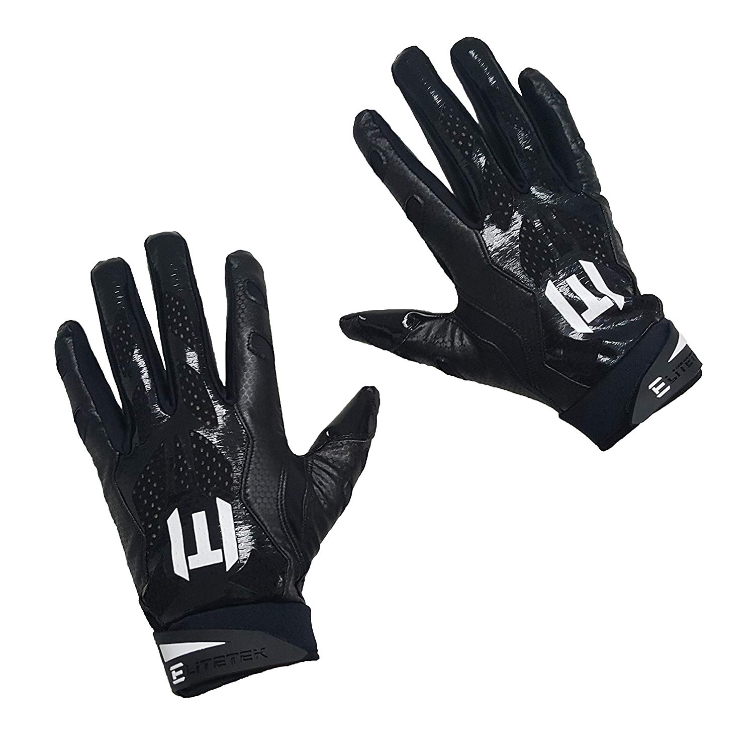 EliteTek E-17 Football Gloves Youth & Adult