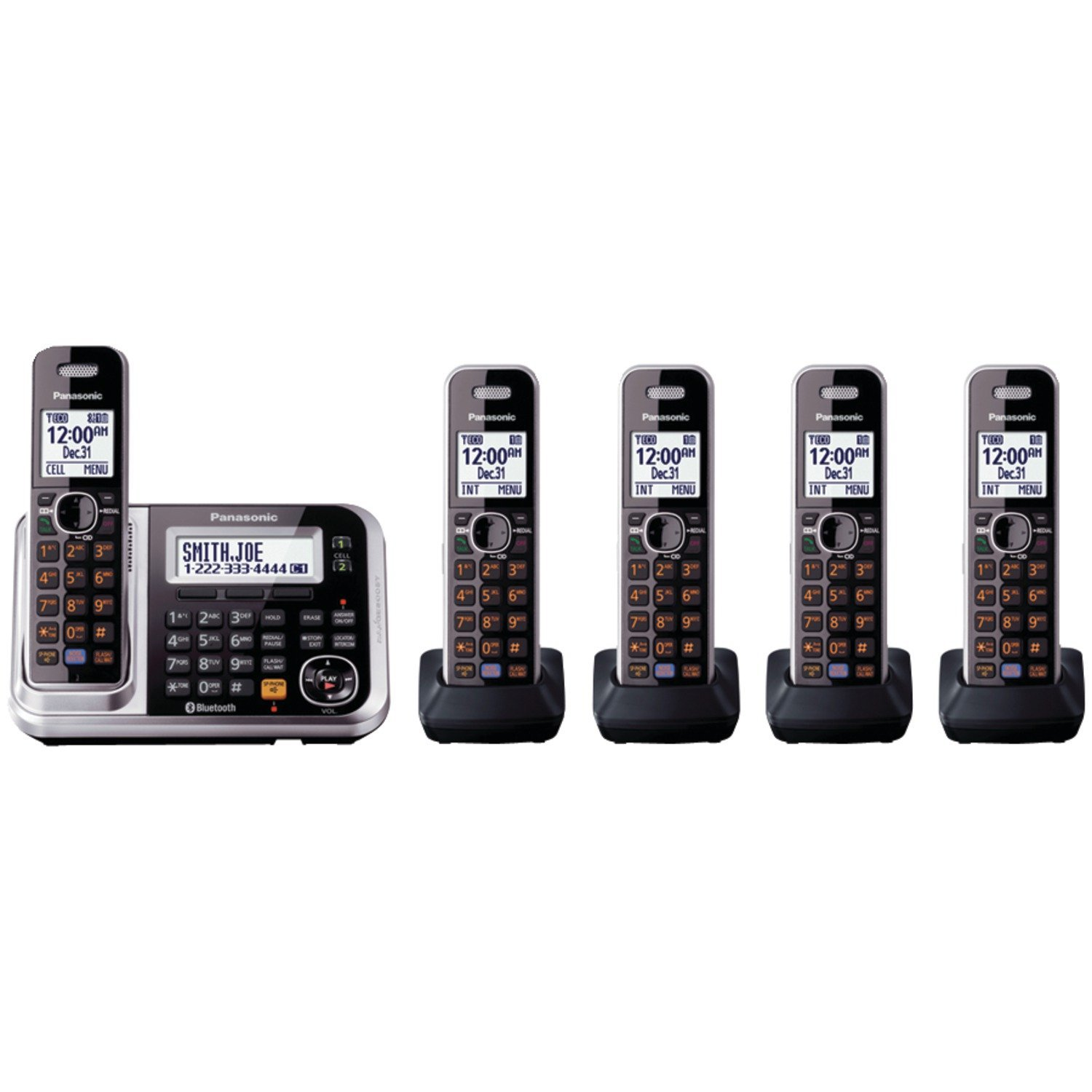 Panasonic KX-TG7875S Link2Cell - Cordless Phones