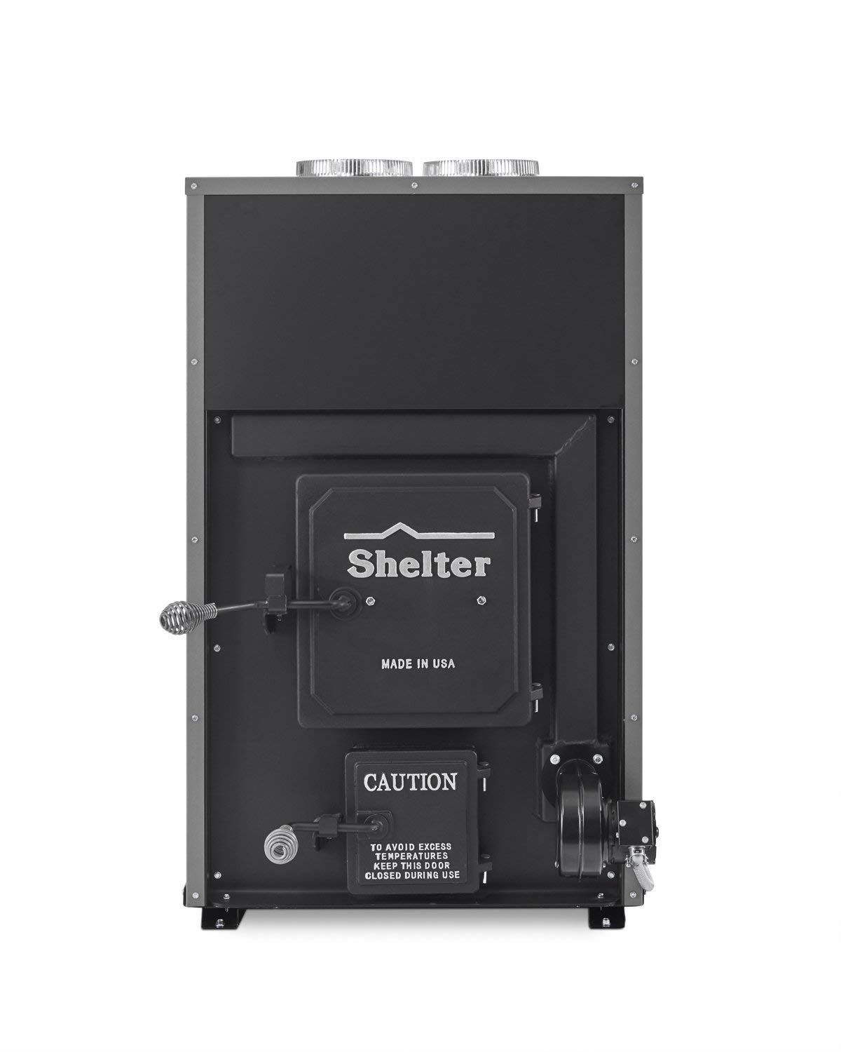 Shelter SF1000 Indoor Wood Burning Add-On Furnace (Heats up to 2,500 sq.ft.) - wood furnaces