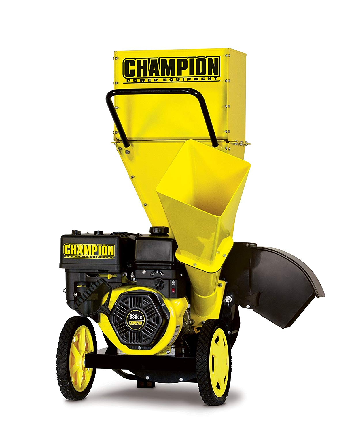 Champion 3-Inch Portable Chipper-Shredder with Collection Bag - chipper shredders
