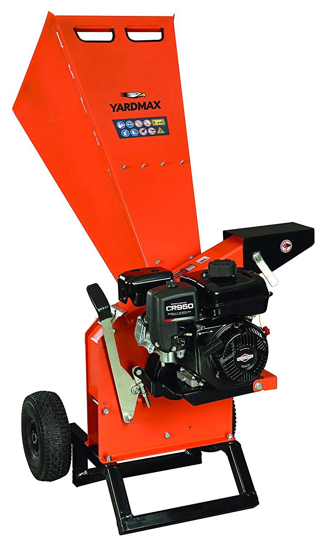 """YARDMAX YW7565 Chipper Shredder, 3"""" Diameter, Briggs & Stratton, CR950, 6.5HP, 208cc"""