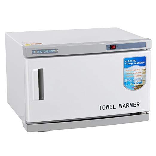 AW 16L UV Sterilizer 2 in 1 Hot Towel Warmer Cabinet Spa Hair Beauty Salon Equipment Scissor Health