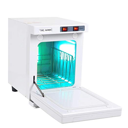 AW 5L Towel Warmer Hot Cabinet UV Sterilizer Beauty Salon Spa Nail Facial Skin Tattoo Home Health Care