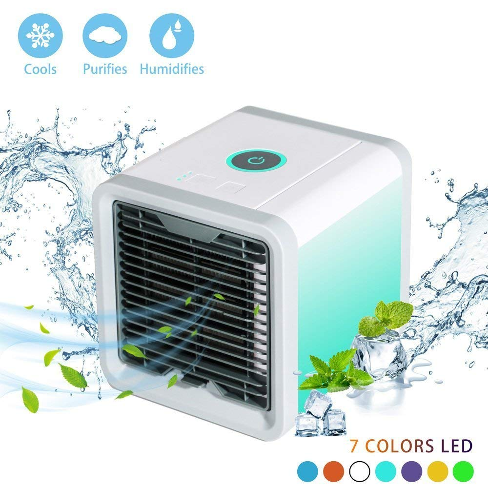 Rxment Portable Air Conditioner Portable - The Quick & Easy Way to Cool Any Space, As Seen On TV, Artic Air Personal Air Cooler, Cooling Fan, Personal Air Conditioner, Evaporative Cooler, Swamp Cooler - Tent Air Conditioner
