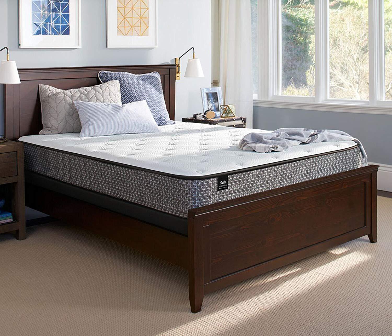 Sealy Response Essentials 10.5-inch Plush Tight Top Mattress, Full