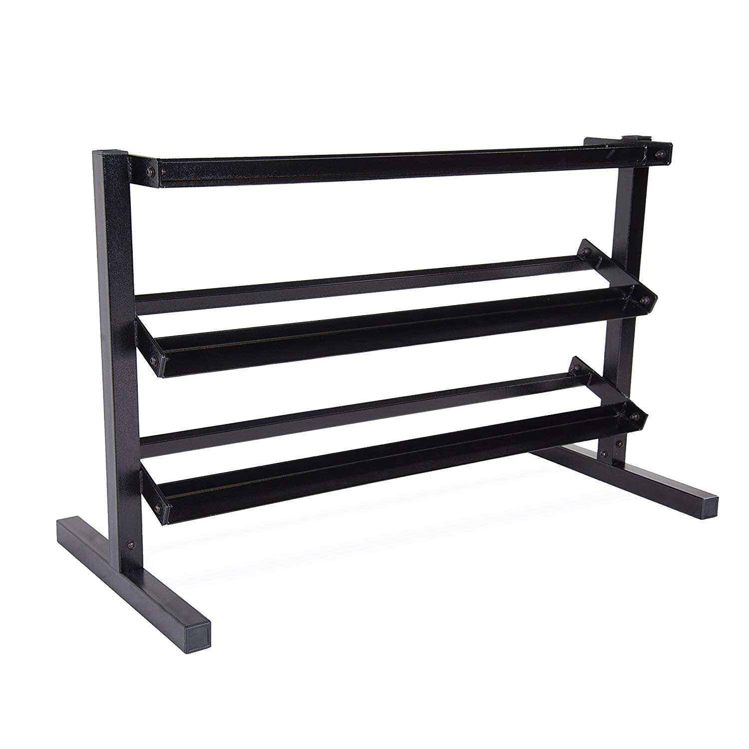 CAP Barbell 3 Tier Dumbbell Rack B00ZEYSVDU