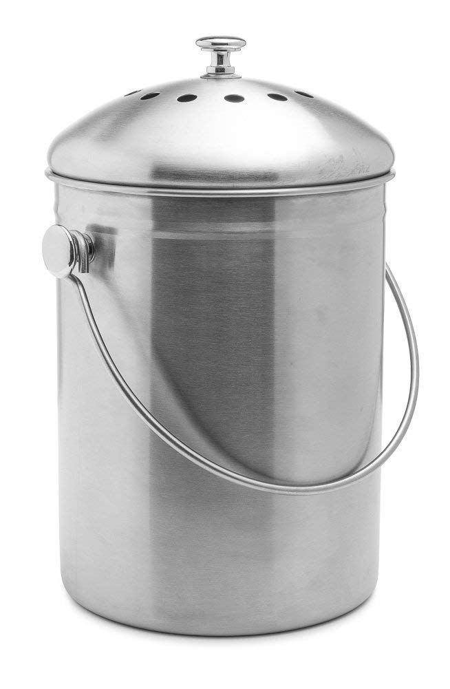 1. Top-Rated Epica Stainless Steel Compost Bin - Outdoor Compost Bins