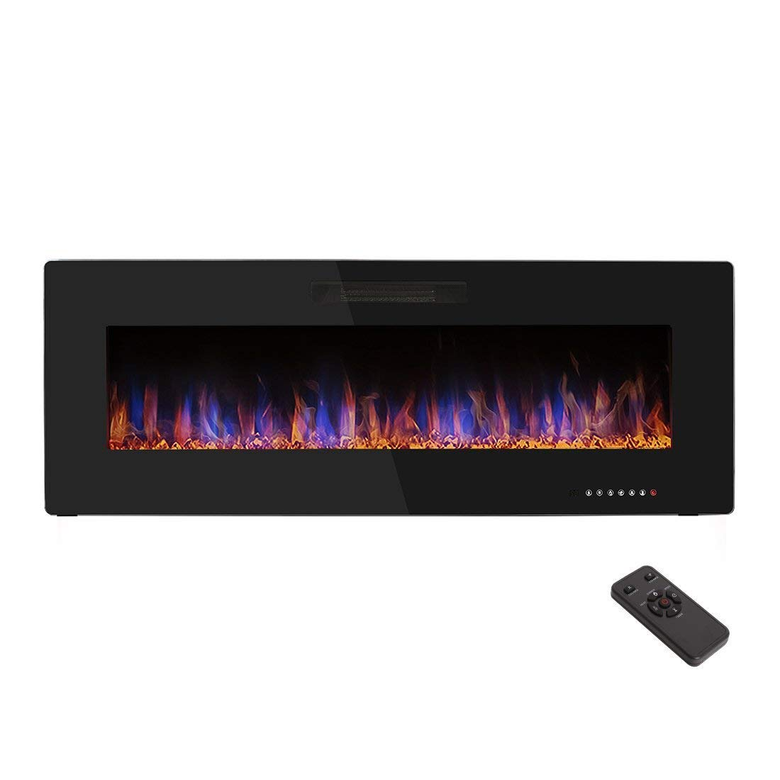 "R.W.FLAME 50"" Recessed Electric Fireplace"