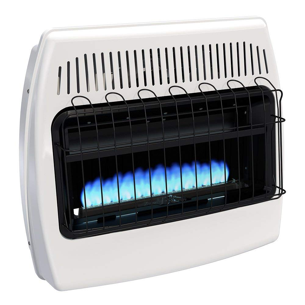 Dyna-Glo BF30NMDG 30,000 BTU Natural Gas Blue Flame Vent-Free Wall Heater